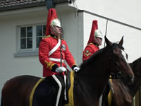 1st The Queen's Dragoon Guards in Bad Ischl