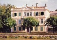Die Villa von Franz Lehár am Ufer der Traun