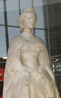 Statue am Westbahnhof, Wien